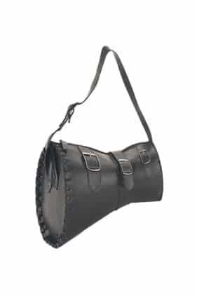 Black Buckle Handbag