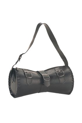 Black Buckle Handbag