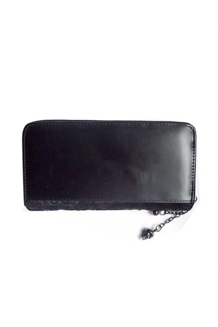 GOTHIC IVY BLACK LACE WALLET