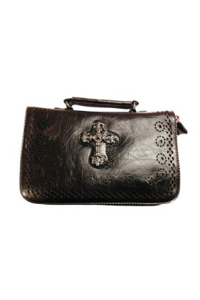 Gothic Cross Handbag (by Banned)