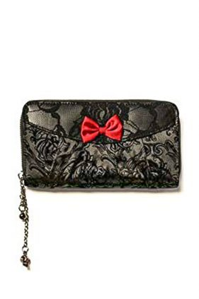 Gothic Ivy Black Lace Wallet (by Banned)