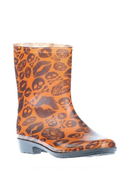 Womens Kiss of Death Welly (by Iron Fist)