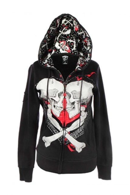 Womens Kissing Cousins Hoodie (by Iron Fist)