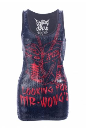 Mr Wong Sequined Tank Top (by Iron Fist)