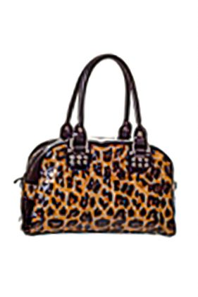 Leopard Print Handbag (by Banned)
