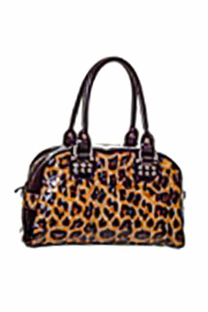 Leopard Print Handbag (by Banned)