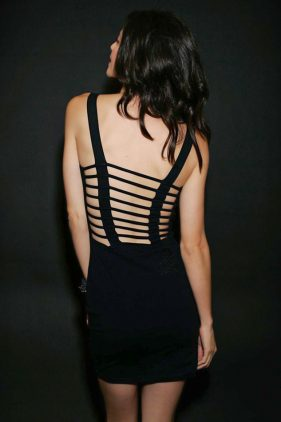 Manslayer Slash Back Dress (by Iron Fist)