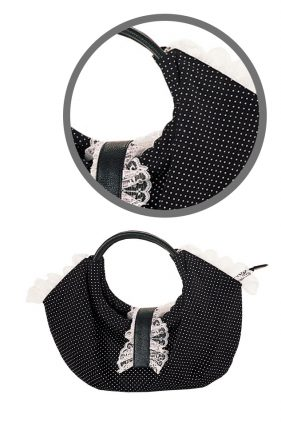 Polka Dot Lolita Bag (by Demonia)