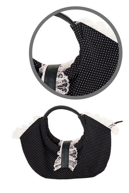 Polka Dot Lolita Bag (by Demonia)