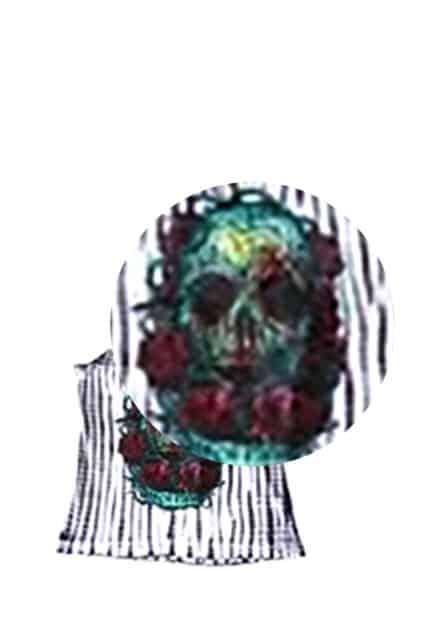 Santeria Tie Dye Twist Back Singlet