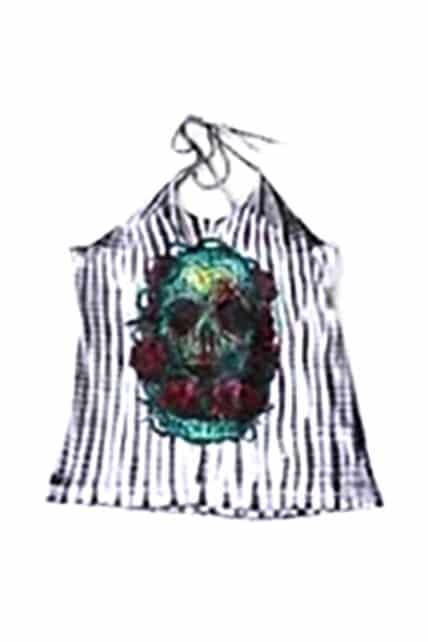 Santeria Tie Dye Twist Back Singlet (by Iron Fist)