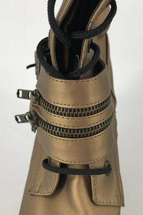 Womens Gothika-100 Gold Boots