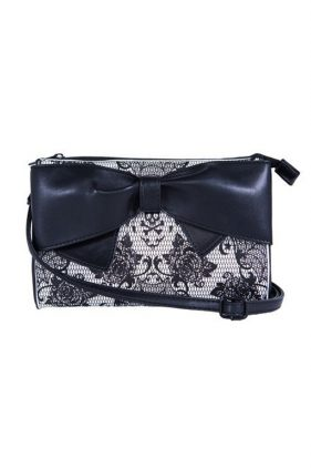 Womens Midnight Widow Clutch Bag (by Iron Fist)