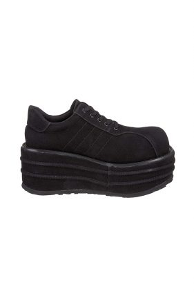Mens Black Suede Tempo 08 Shoes