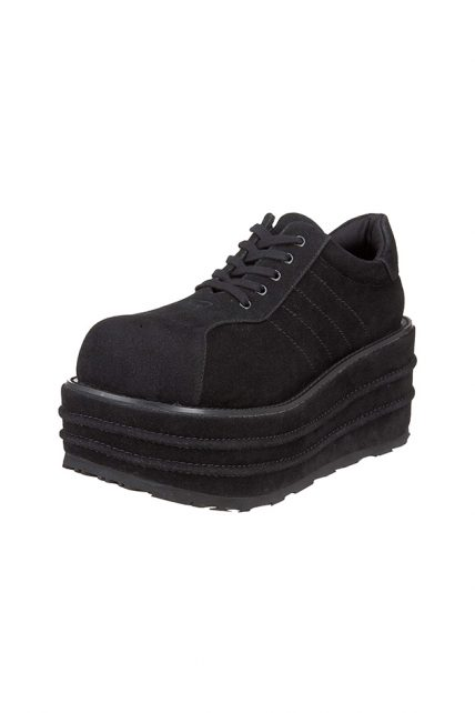 Mens Black Suede Tempo 08 Shoes