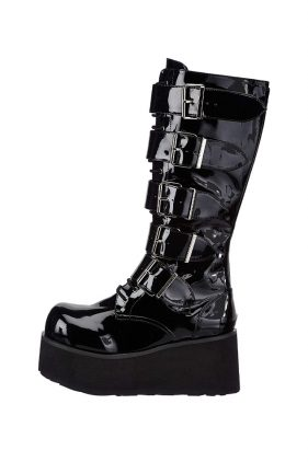 Mens Black Trashville 518 Boots