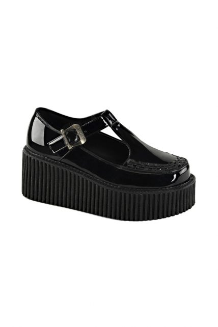 Womens Black Creepers