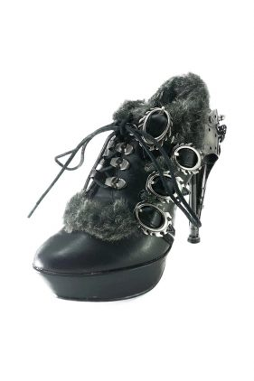 Womens Black Morgana Shoes
