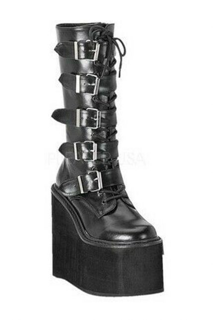 Womens Black Swing 228 Boots