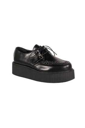 Womens Black V-Creeper