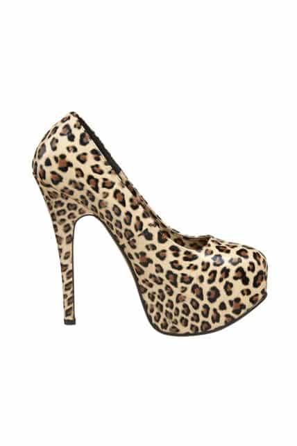 Womens Cheetah Print Teeze 35 Shoes
