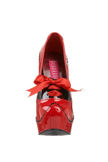 Womens Red Teeze 01 Shoes